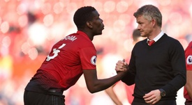 Pogba belongs to Man Utd, not Mino, insists Solskjaer