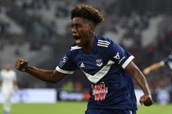 Timothee Pembele scored as Bordeaux got a draw at Marseille. AFP