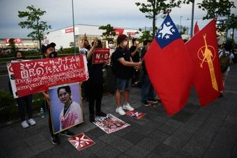 Myanmar GK  Pyae Lyan Aung will be granted asylum in Japan. AFP