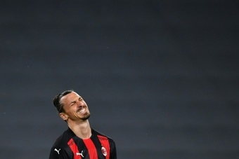 Zlatan Ibrahimovic hasnt played since early May due to his knee injury. AFP