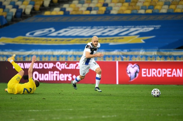 Teemu Pukki looks set to be fit in time for Finland's Euro 2020 campaign. AFP