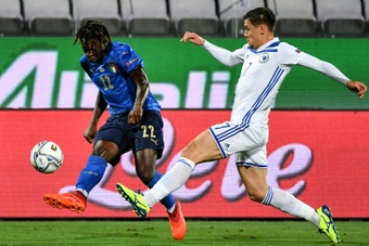 Italy's Kean joins Juventus after Ronaldo exit