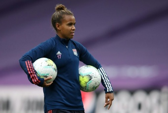 Nikita Parris has moved to Arsenal from Lyon. AFP