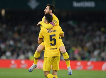 Busquets shocked by Messi exit as Barcelona get set for Bayern