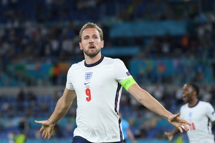 Harry Kane got a brace in England's 4-0 victory over Ukraine. GOAL