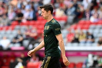 Lewandowski drops hint on future as Bayern head to bottom side Fuerth. AFP