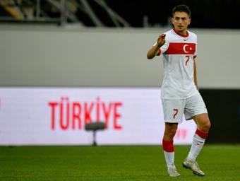 Cengiz Under moved to Roma in 2017. AFP