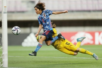 Iwabuchi signed for Arsenal Women's team on Wednesday. AFP
