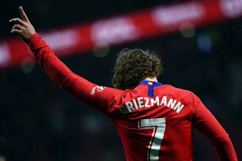 Antoine Griezmann rejoins Atletico Madrid from Barcelona. AFP