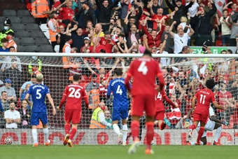 African players in Europe: Salah scores 99th Premier League goal.