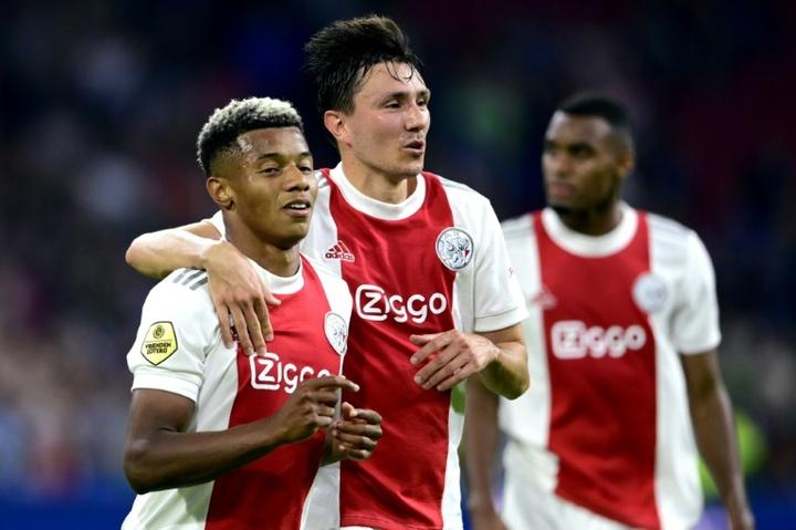 Ajax enjoy 9-0 romp in Dutch league. AFP