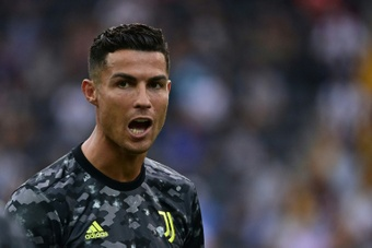 Cristiano Ronaldo asked to be on the bench v Udinese. AFP