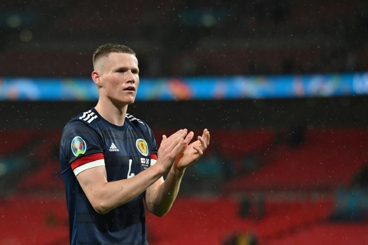 Scott McTominay will miss Man Utd's game with Wolves after having groin surgery. AFP