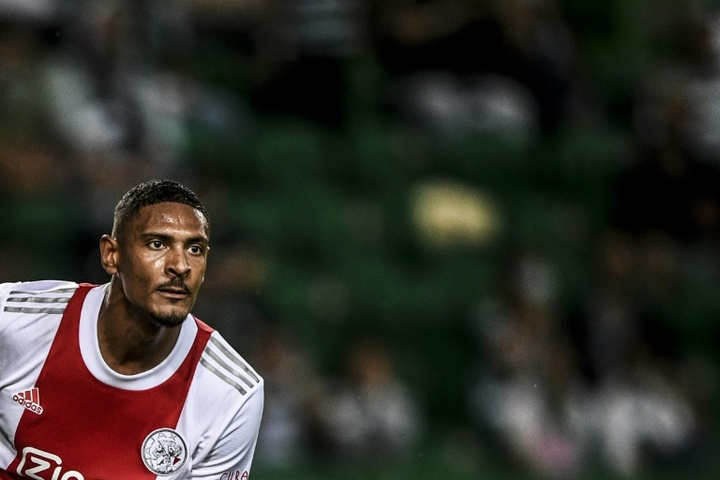 Ajax star Haller takes to Champions League in style. AFP