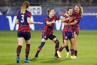 USA will be involved in the new women's WCQ for CONCACAF. AFP