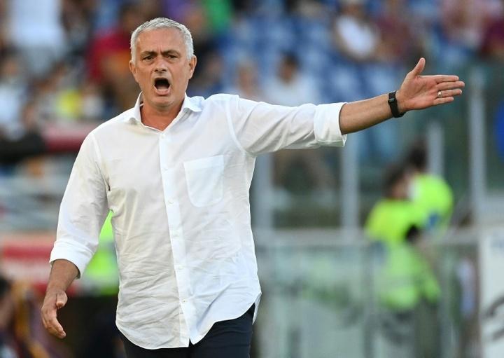 Jose Mourinho's Roma easily beat Trabzonspor 3-0. AFP