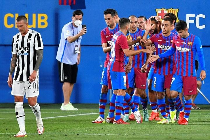 No Messi, no problem as Barcelona defeat Juventus. AFP