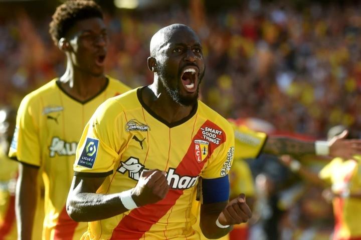 Seko Fofana levelled as Lens drew 2-2 with St Etienne. AFP