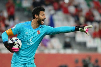 El Shenawy will captain Al Ahly against Renaissance Berkane in the CAF Super Cup on Friday. AFP