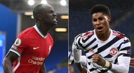 Liverpool face Man Utd in a huge Premier League clash on Sunday. AFP