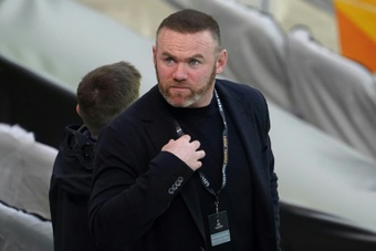 Derby County manager Wayne Rooney heard about Derby administration plan on TV news. AFP