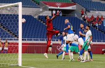 Richarlison scored as Brazil beat Saudi Arabia 3-1. AFP