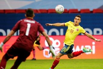 Frankfurt sign Colombia striker Borre and Spanish teen Herrero. AFP