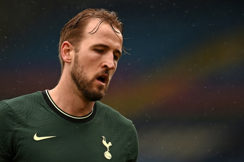 Harry Kane is yet to show up for Tottenham pre-season training. AFP