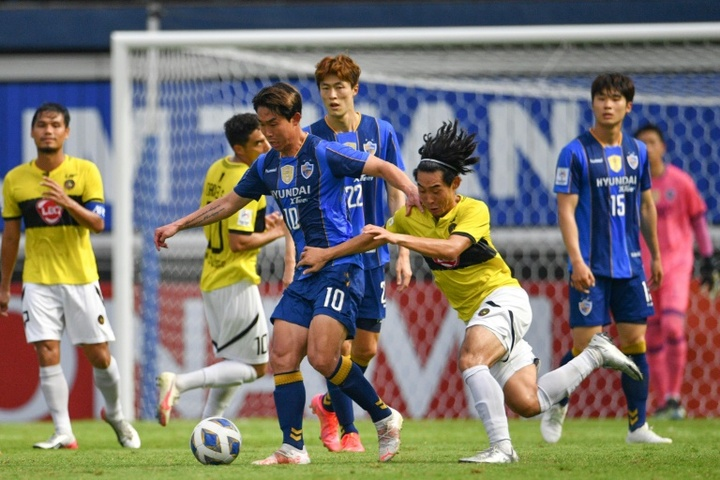 Ulsan defeated Kaya 2-1 in the AFC Champions League. AFP