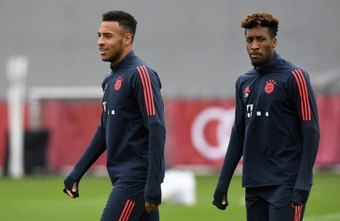 Bayern without Tolisso, Coman for Leipzig showdown. AFP
