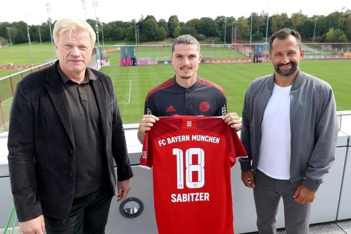 Bayern recruit Sabitzer braced for boos on Leipzig return. AFP