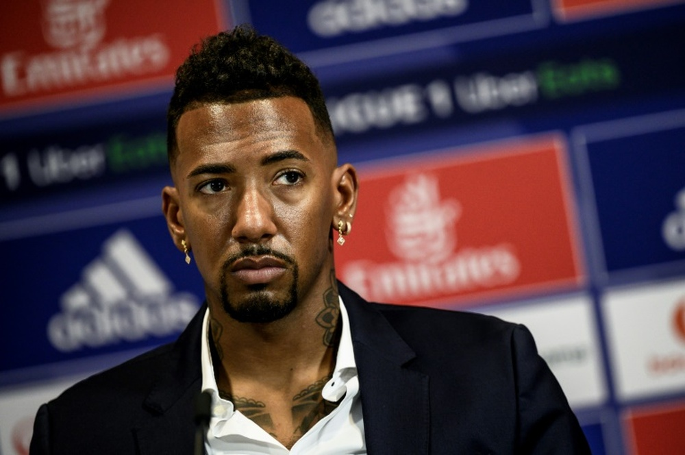 Jerome Boateng will face allegations of assault in Germany. AFP