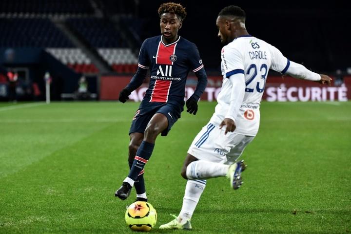 Le Parisien Pembélé et le Lyonnais Bard sélectionnés pour les JO 2020. AFP