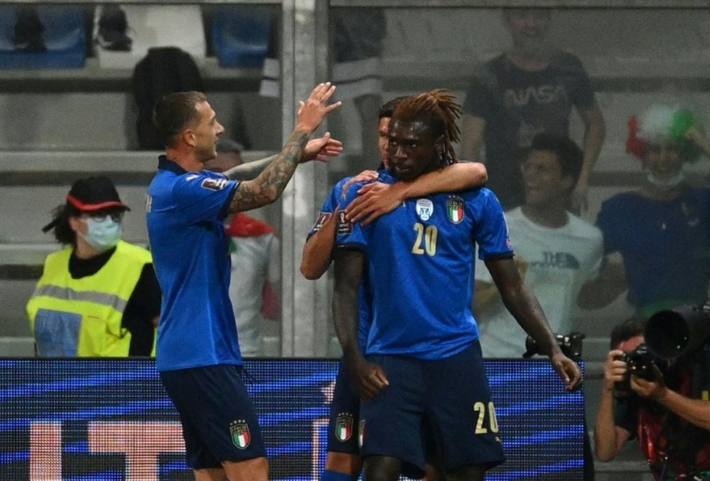 Mondial-2022: Kean brille et l'Italie étrille la Lituanie. AFP