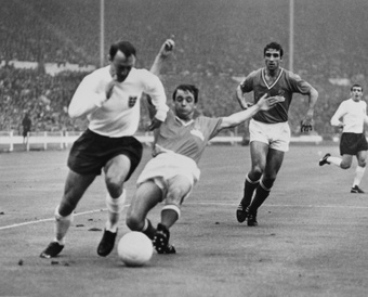 L'attaquant Jimmy Greaves en 1966. AFP