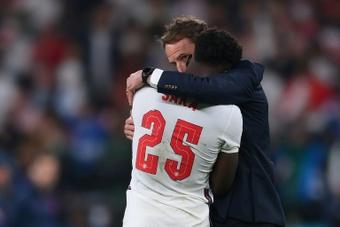 Plusieurs personnes ont été arrêtées après des déclarations racistes sur des joueurs anglais. AFP