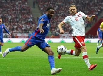 Qualifs Mondial-2022: l'Angleterre accrochée en Pologne, l'Allemagne engrange en Islande. AFP