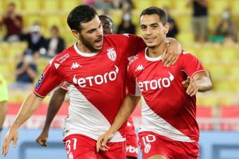 Le duo Volland-Ben Yedder remet Monaco sur les rails contre Saint-Etienne. AFP
