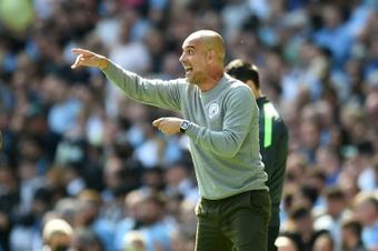 Manchester City a appris de ses défaites, assure Guardiola. AFP