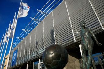 Le conte de fées du foot islandais écorné par un scandale. afp