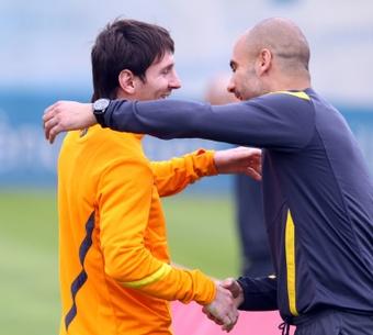 Messi-Guardiola, ils se sont tant aimés. AFP