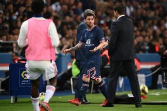 Pochettino a expliqué dimanche pourquoi il a remplacé Lionel Messi. AFP