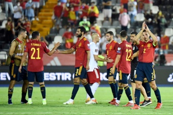 L'Espagne étrille la Géorgie 4-0. AFP