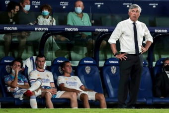 Surpris par Levante, le Real peut remercier Vinicius. AFP