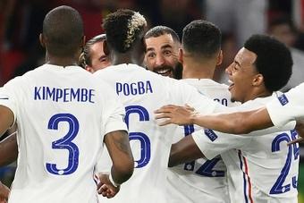 Karim Benzema a rouvert le robinet à buts. AFP
