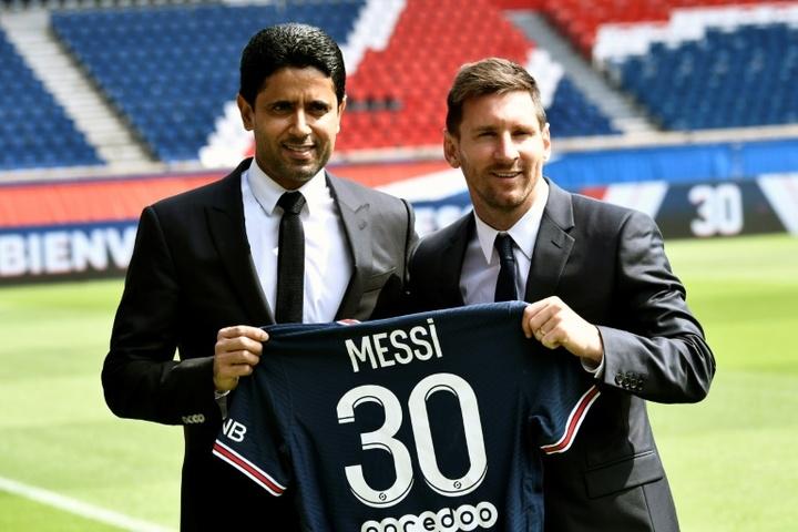 Galtier de retour à Lille, Messi présenté au Parc. AFP