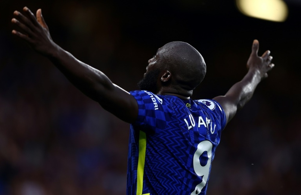 Lukaku, le Monsieur plus de Chelsea. AFP