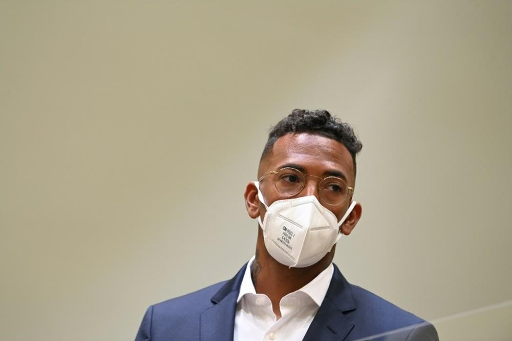 Jérôme Boateng condamné à 1,8 million d'euros d'amende pour violences conjugales. AFP