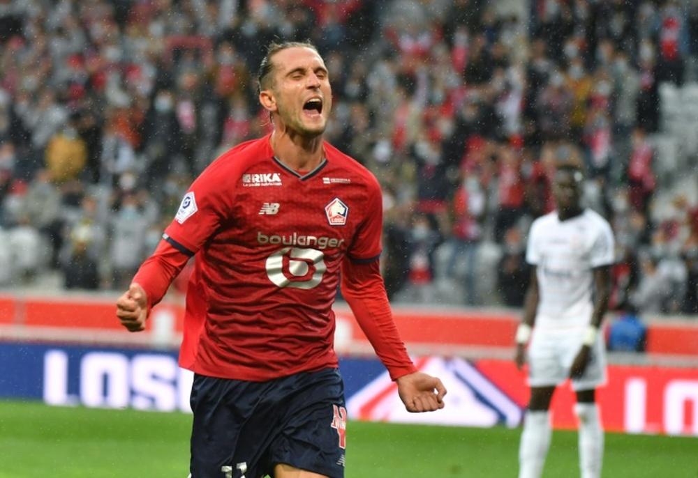 L1: Lille veut confirmer à Lorient avant la Ligue des champions. AFP