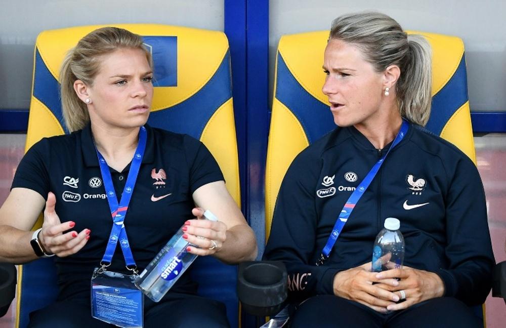 Henry et Le Sommer s'éloignent des Bleues à l'approche de l'Euro. AFP